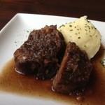 ロケットカフェ - 豚バラ肉のバルサミコ煮込み