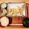 串道楽 - 料理写真:串揚げ定食