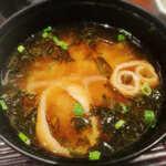 Tonkatsumaisen - あおさのお味噌汁