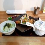 茶願寿cafe - 季節の宇治茶漬け