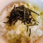 茶願寿cafe - お茶は薄め