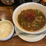 中華バルSAISAI。 - SHISEN坦々麺セット1100円税込