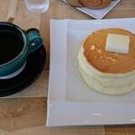 大江ノ郷自然牧場 ココガーデン - コーヒーのセットで