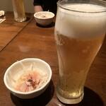 赤坂うのあん - 生ビール