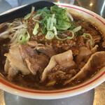 まる徳ラーメン - 料理写真:汁ありタンタン麺
