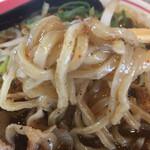 まる徳ラーメン - 汁ありタンタン麺