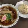 飛鳥 - 料理写真:半チャーハンラーメン(750円)