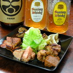 """調布 気らく亭 - 和酒には""""熟成麹旨焼""""、洋酒には""""燻製直火焼""""相性を追求してお作りいたしました。"""