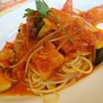 ジョナサン - 夏野菜とトマトのスパゲッティ