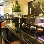 えんどう寿司 - 店内(カウンター席)