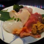 えんどう寿司 - お造り四種盛り