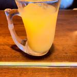 びっくりドンキー - オレンジジュース