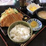 ファミリーレストランはやかわ - 料理写真:ロースカツ 900円