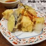 スタンドふじ - かにのふわふわ天ぷら