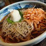 四季の里 蕎麦 季里 - 桜海老辛味大根おろし蕎麦
