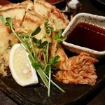 あし跡 - 海鮮チヂミ焼