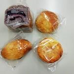 リトルリバー - 料理写真:ブルーベリー、カレー、チーズ、タルト