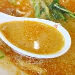 珍満飯店 - スープ