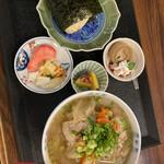 はやとみ  - 料理写真:【秋のまんぞくセット】¥1200