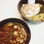 らーめん むつみ屋 - 香味つけ麺(850円)