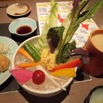魚魯魚魯 赤羽店 - バーニャカウダー