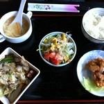 中国小皿酒家 萬徳 - 日替わりランチの回鍋肉、680円。