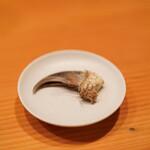 日本料理 たかむら - ツキノワグマの爪
