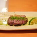 日本料理 たかむら - ツキノワグマのロース