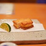 日本料理 たかむら - 海老真薯のトースト
