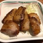七津屋 - 牛かっぱ塩焼き280円