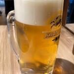 赤垣屋 - 生ビール一番搾り358円