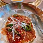 焼肉ブルズ亭 - カルビ丼 900円