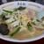 萬来軒 - 料理写真:タンメン+半チャーハンセット(800円)