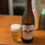 天平 - 瓶ビール 600円