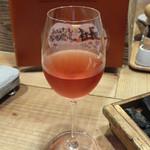 北海道シントク町 塚田農場 - トカップ ロゼ グラス
