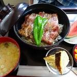 北斗星 - ステーキ丼