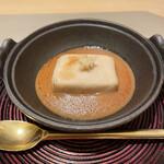 丸の内一丁目 しち十二候 - 名物の焼き胡麻豆腐