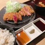 牛カツ京都勝牛 - 牛リブロースカツ・牛ロースカツ京玉膳(相盛り)