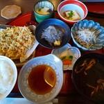 まさ吉 - 料理写真:シラスづくし定食