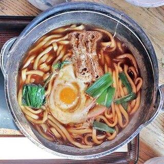 辰味 - 鳥肉入り味噌煮込with生たまご