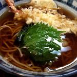 一福 - 天ぷら蕎麦