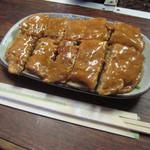 いづみ屋食堂 - 豚平焼き 600円