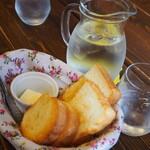 まめぼんcafe - ランチ パン