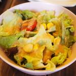 まめぼんcafe - ランチ サラダ