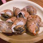 海鮮処 まる貝 - バイ貝の煮付け