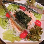 海鮮処 まる貝 - 大根明太サラダ