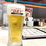 餃子の王将 - 生ビール 450円
