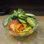 赤富士 - 野菜サラダ