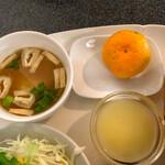コーヒーハウス スイート - 味噌汁・ゼリー・フルーツ