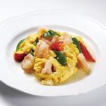 栄児 家庭料理 - 料理写真:海老入り卵炒め
